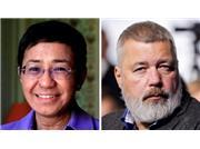 ۲ خبرنگار، برندگان جایزه صلح نوبل امسال